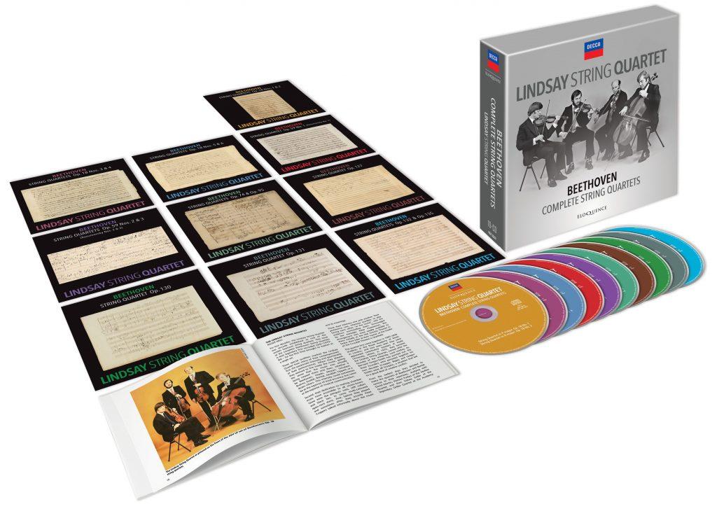 Lindsay String Quartet – Beethoven: Complete String Quartets