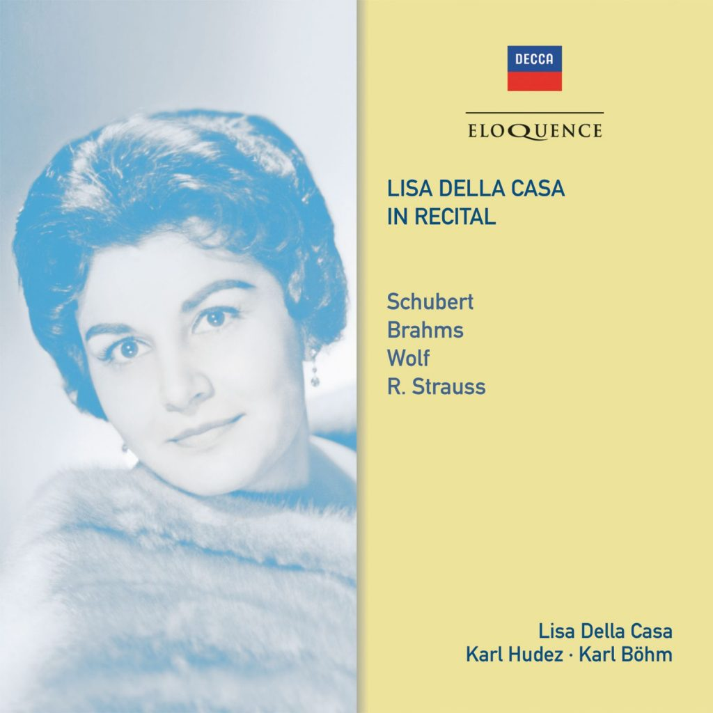Lisa Della Casa in Recital