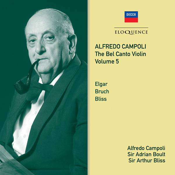 Alfredo Campoli: The Bel Canto Violin – Vol 5