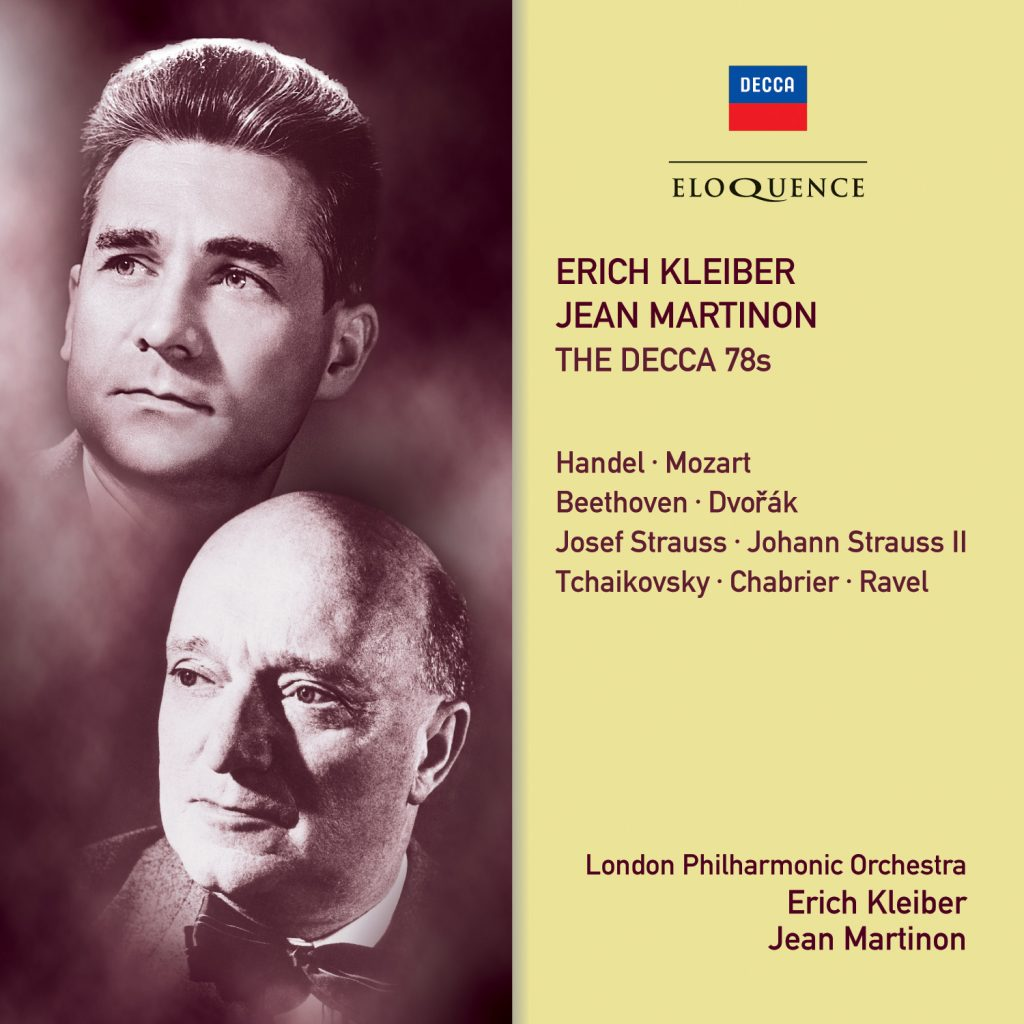 Erich Kleiber, Jean Martinon – The Decca 78s