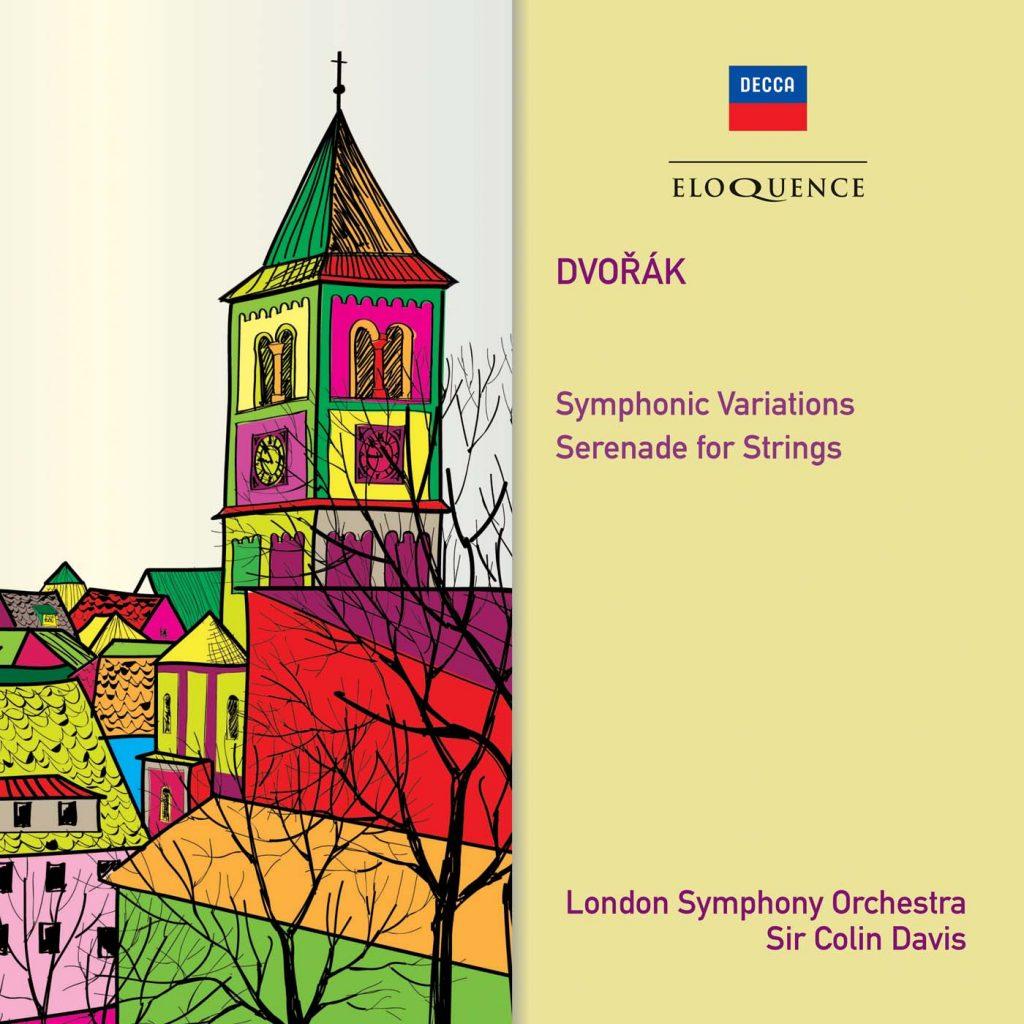 Dvořák: Symphonic Variations; Serenade for Strings