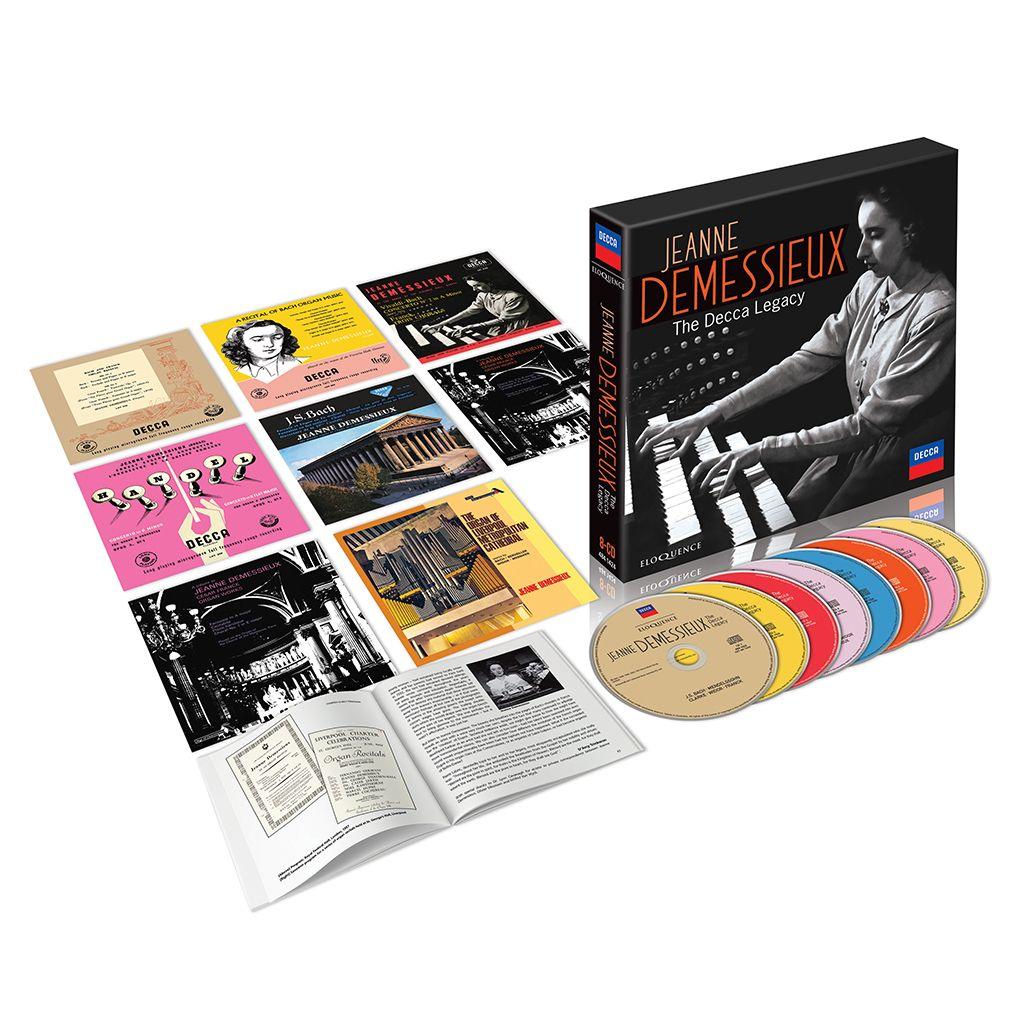 Jeanne Demessieux – The Decca Legacy