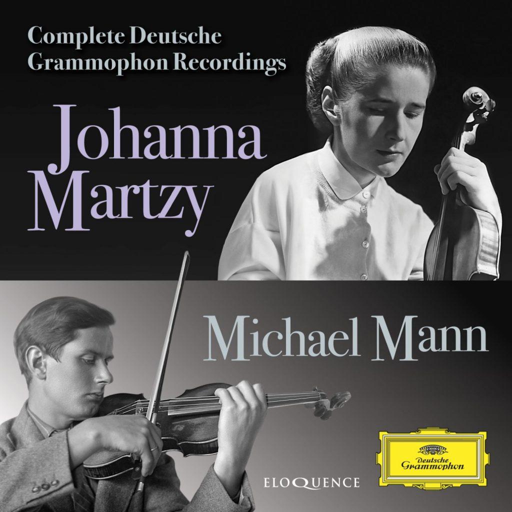 Johanna Martzy, Michael Mann – Complete Deutsche Grammophon Recordings
