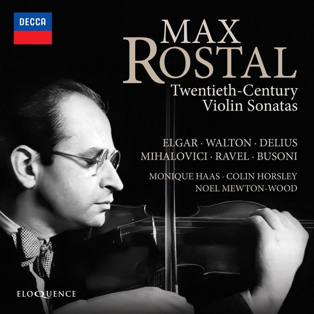 Max Rostal – Twentieth-Century Violin Sonatas