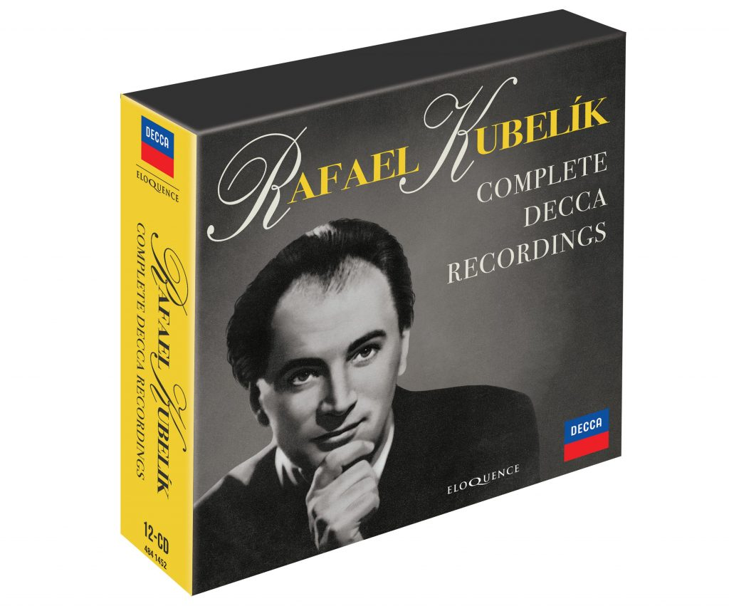 RAFAEL KUBELÍK – Complete Decca Recordings