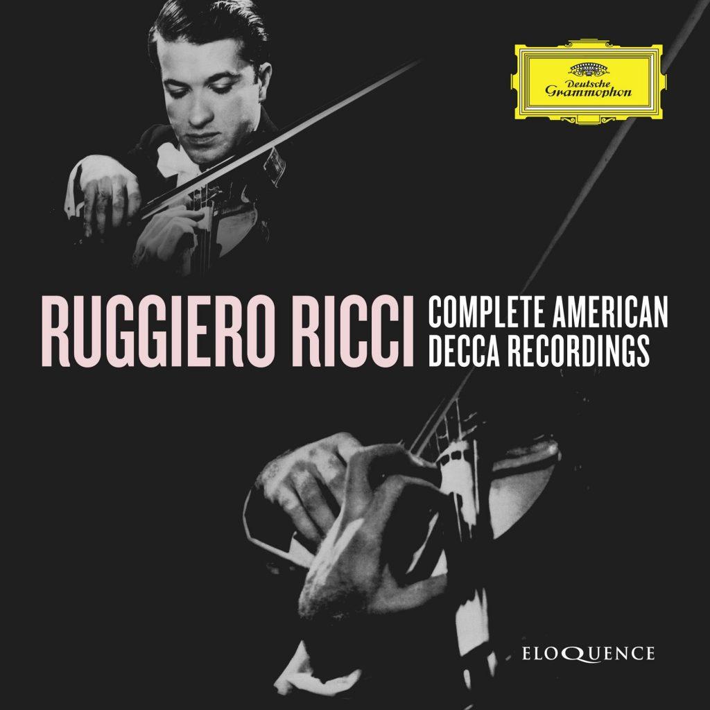 Ruggiero Ricci Complete American Decca Recordings (9CD)